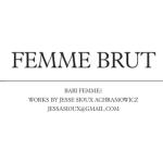 Femme Brut Jesse Sioux Achramowicz