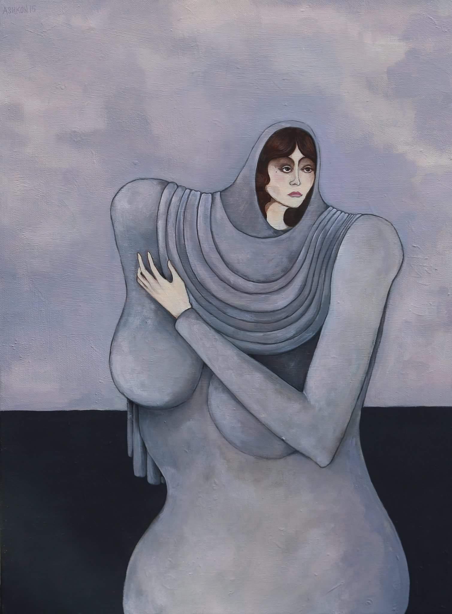 Woman at Black Sea